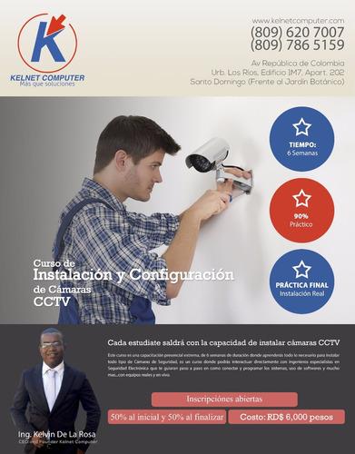 Instalación Y Configuración De Cámaras De Seguridad Cctv