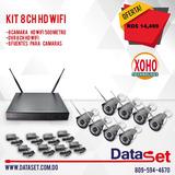 Kit 8ch Wifi  Camaras