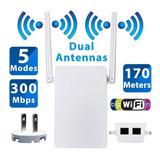 Router Repetidor Wifi Amplificador Doble Antena 300mbs Avanz