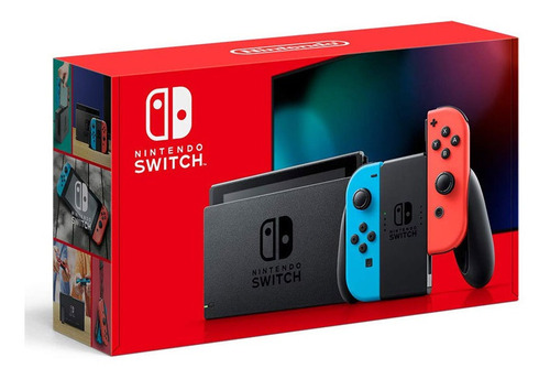 Nintendo Switch Neon Joy-con Hac-001(-01) Consola
