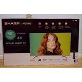 Sharp Televisión Led 4k