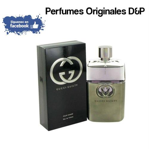 Perfume Gucci Guilty Para Hombres 100% Originales