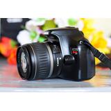 Canon T3 1100d + Lente 18-55mm Profesional