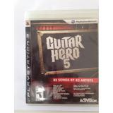 Guitar Hero 5 Playstation 3 Ps3
