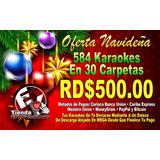 Oferta Navideña 584 Videos Karaokes En 30 Carpetas