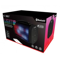 Bocina Coby Portable, Speaker Bluetooth, Luz Parpadeante
