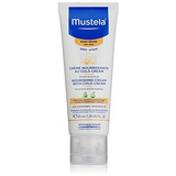 Crema Facial Nutritiva Para Bebe Mustela Con Crema Fria, Cer