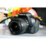 Camara Canon T3i Reflex Dos Meses De Garantia!