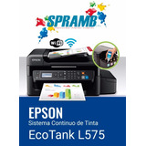 Epson L575 Con Sistema De Tinta Original De Fabrica Barata