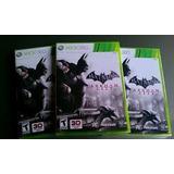 Batamn Arkham City Cinta De Xbox 360
