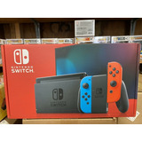 Nintendo Switch Console - Neon Blue/neon Red