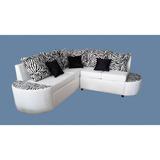 Juego De Muebles Yaport V2 Modernos Blanco Cebra