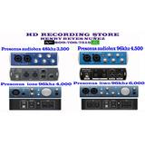 Tarjeta De Audio Interfaz Mixer Presonus Audiobox Para Micro