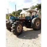 Tractor Ford 7810 Con Equipo Completo De Arado Y 11 Carretas