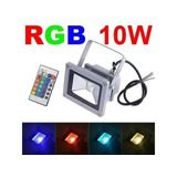 Reflectores Led Multicolores Para Decoraciones De Exterior