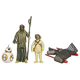 Star Wars The Force Awakens 3.75-inch Figura 3-pack Thug Del