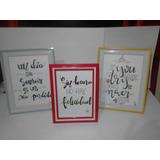 Cuadros Y Cuadernos En Lettering Personalizado