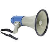 Megafono Predicador 25w Amplificador Altoparlante Grabador