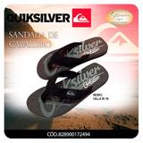 Sandalias De Caballero Quiksilver 100% Original