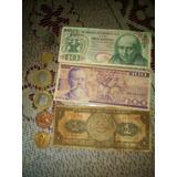Monedas De 20$ De 100$ Pesos, De 5$ 50 Centavos De 1893ymas