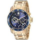 Reloj Invicta 0072 Pro Diver Collection Cronógrafo 18 K