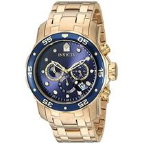 Reloj Invicta 0072 Pro Diver Collection Cronógrafo 18 K