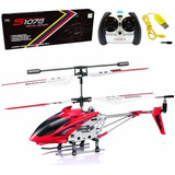 Drone Helicoptero Volador Control Remoto Cuerpo Metalico