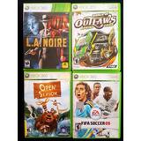Pack 4 Juegos Xbox 360 / Rd$850