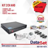 Kit 2 Camara Ahd Dvr 4ch