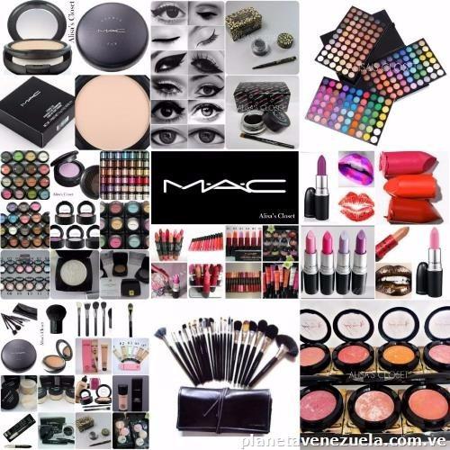 Combo #02 De Maquillaje Cosmeticos Mac Para Revendedores Lea