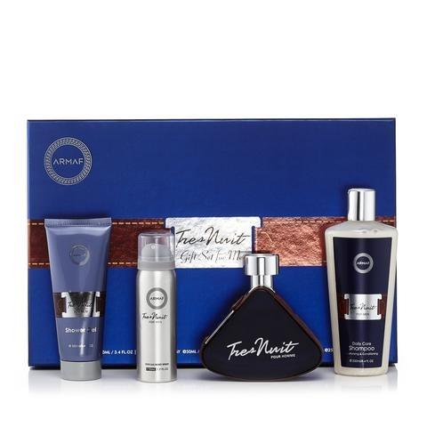 Perfume En Set Para Hombre Tres De Nuit 30 Dias De Garantia