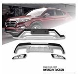 Sobre Bumpers De Hyundai Tucson 2016-2017