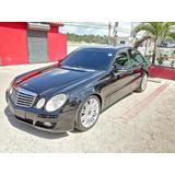 Mercedes Benz E 200 Kompr. 2007 Motor 1.8 Negro Gasolina 4p