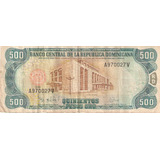 Billete Coleccionable Rd$500