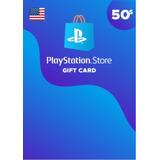 Playstation Network Card Psn $50 Usd Usa Digital Codigo