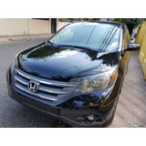 Honda Cr-v Ex Full 4x4 Negra Import. 12