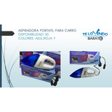 Aspiradora Portatil Para Carros  / Soy Tienda