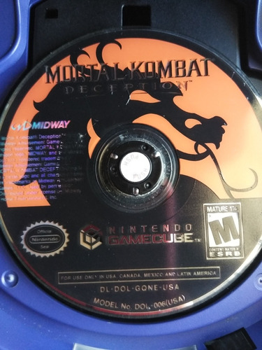 Mortal Kombat Nintendo Gamecube
