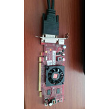Tarjeta De Video Ati Radeon 256mb Con Su Adaptador