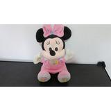 Minnie, Peluche, Color Rosa Usada