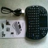 Mini Teclado Inalámbrico Touchpad Smart Tv Con Control