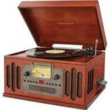 Crosley Radio Cr704 Todos En Uno Reproduce Cds Y  Casetes