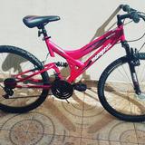 Bicicleta Mongoose-aro-24-doblesupencion