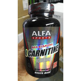 L-carnitine Alfa 100 Capsulas $1,300