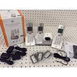 Telefono Inalambrico At&t 3 Estaciones Nuevos El52303