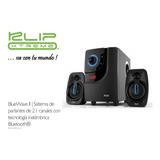 Bocinas Klipx 2.1 Kws-616, 40w, Bluetooth, Sd, Usb, Radio Fm