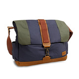 J World New York Sam Canvas Messenger Coleccion Vintage Azul