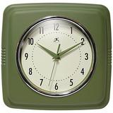 Infinito Instrumentos Reloj De Pared Cuadrado Retro De 98 En