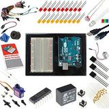 Arduino Uno 3 Ultimate Starter Kit Incluye 12 Circuit Learni
