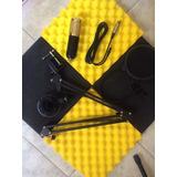 Pack De Microfonos Condensador Bm 800 Original Gratis 4 Acus
